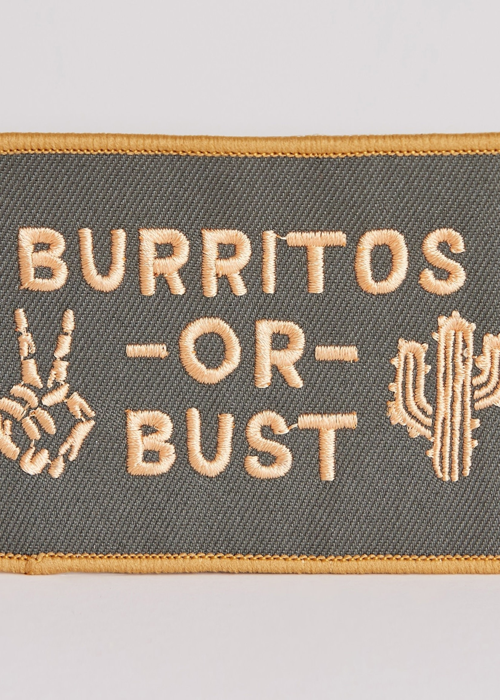 PYKNIC PYKNIC BURRITOS OR BUST PATCH