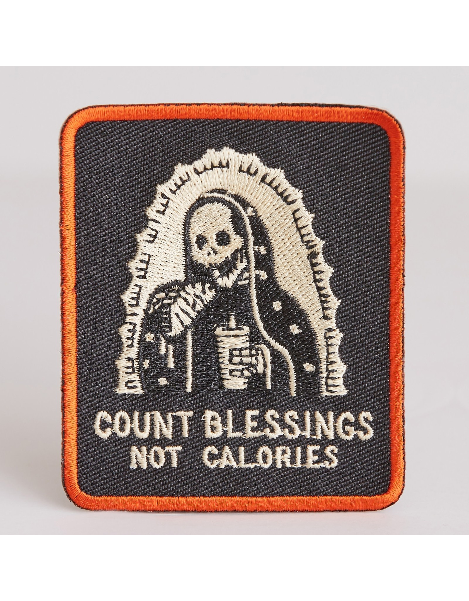 PYKNIC PYKNIC COUNT BLESSINGS NOT CALORIES PATCH