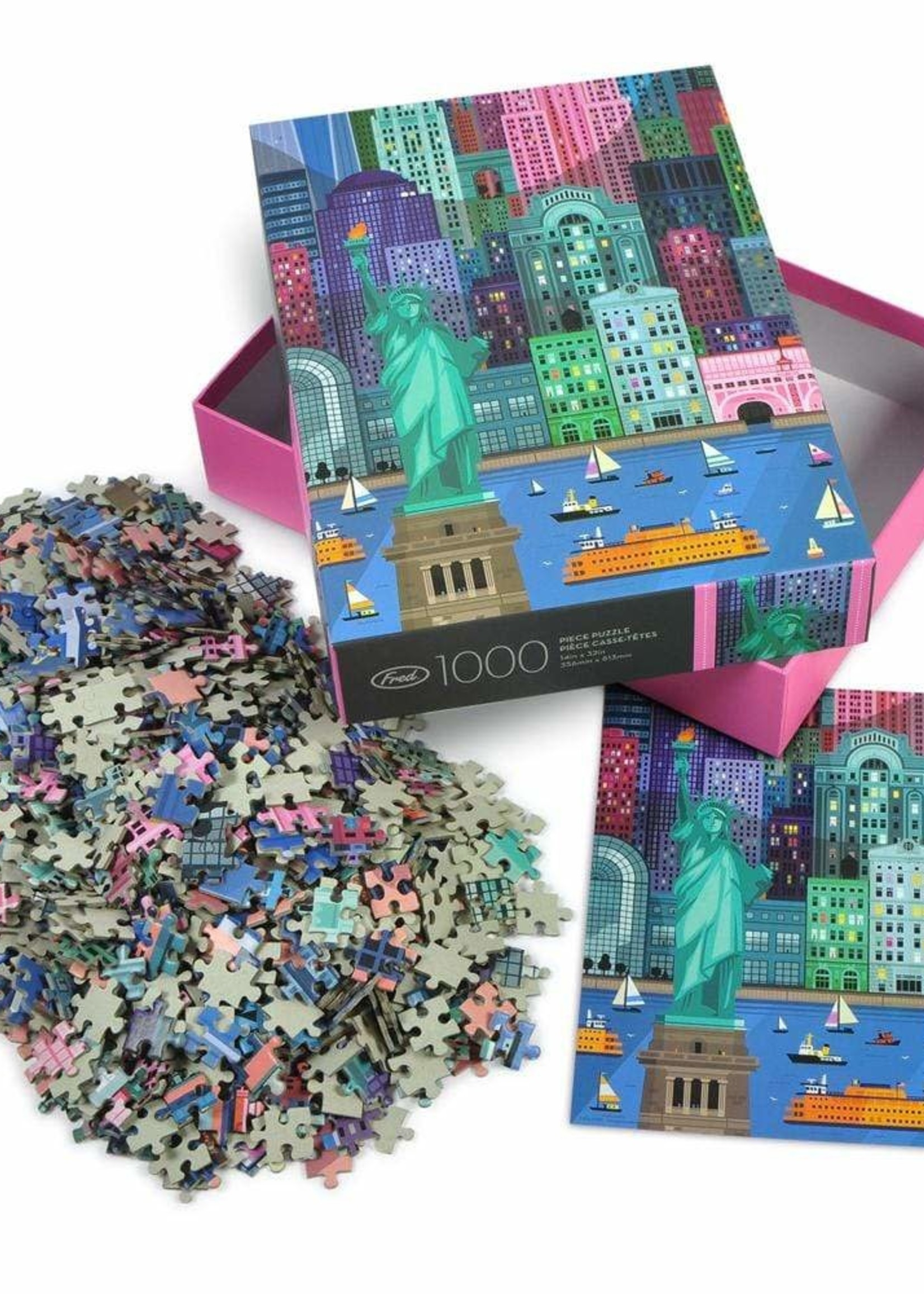 Fred & Friends FRED LITTLE FRIENDS NYC PUZZLE