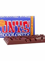 TONY'S CHOCOLONELY TONY'S DARK PRETZLE TOFFEE CHOCOLATE BAR