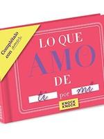 KNOCK KNOCK KNOCK KNOCK FILL IN BOOK- LOVE SPANISH