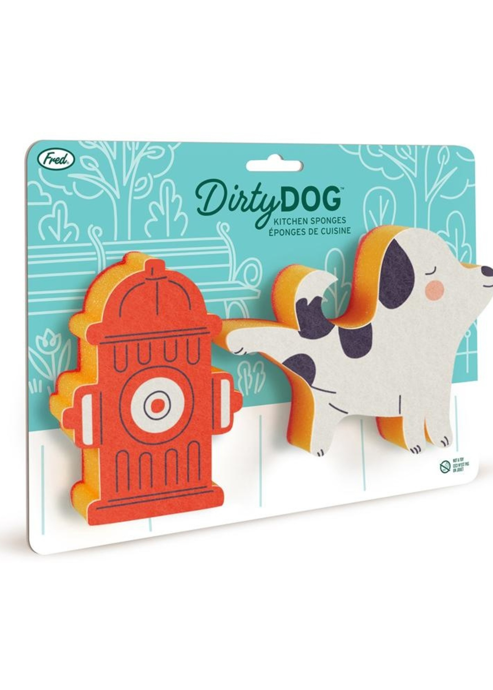 Fred & Friends FRED DIRTY DOG AND HYDRANT SPONGES