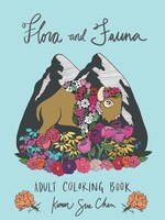 KAREN SUE STUDIOS FLORA AND FAUNA COLORING BOOK