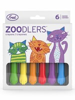 Fred & Friends FRED ZOODLERS CAT PAW CRAYONS