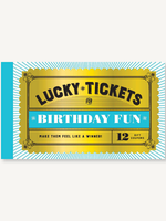 Chronicle Books LUCKY TICKETS FOR BIRTHDAY FUN