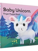 Chronicle Books BABY UNICORN FINGER PUPPET BOOK