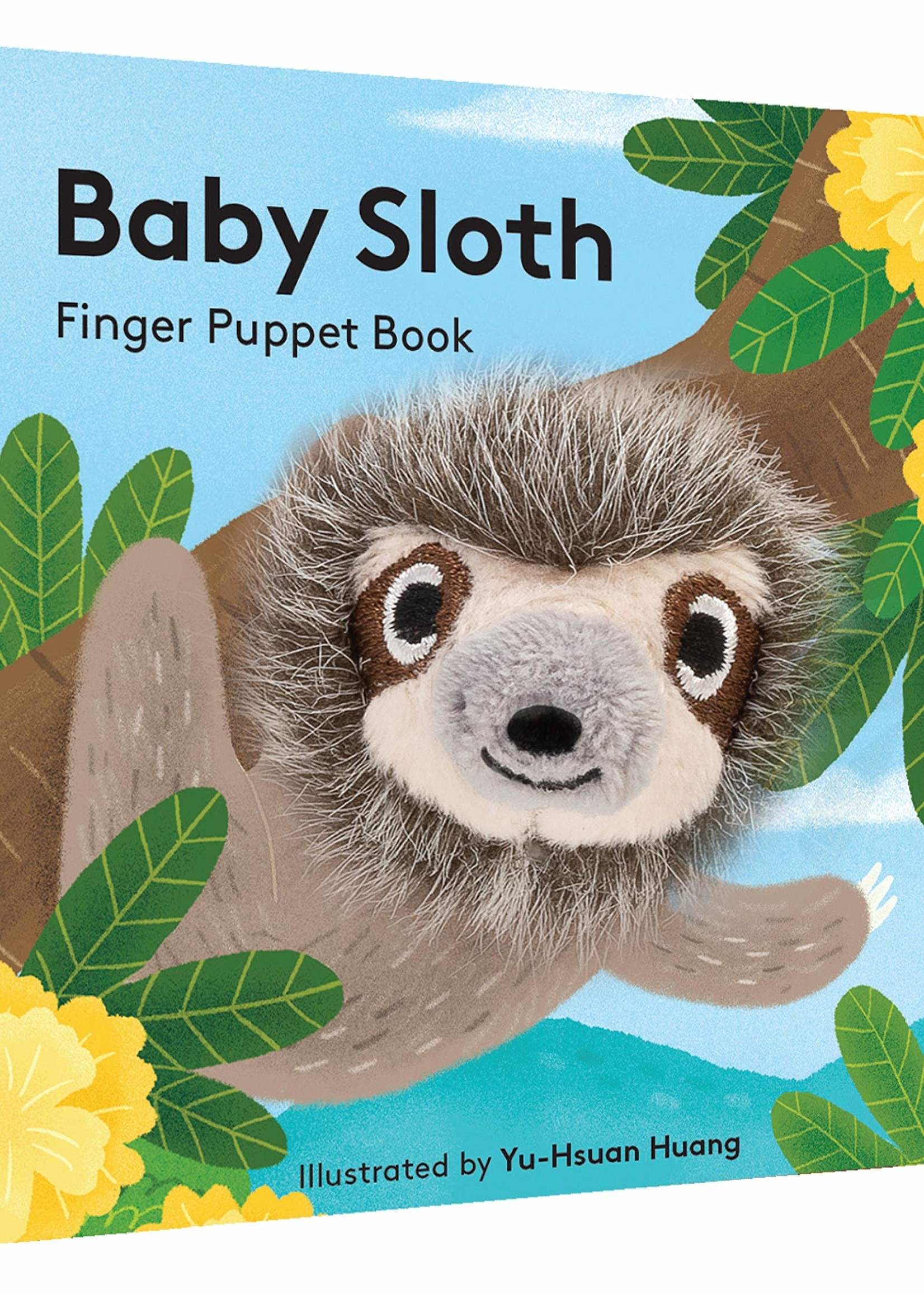 Chronicle Books BABY SLOTH FINGER PUPPET BOOK