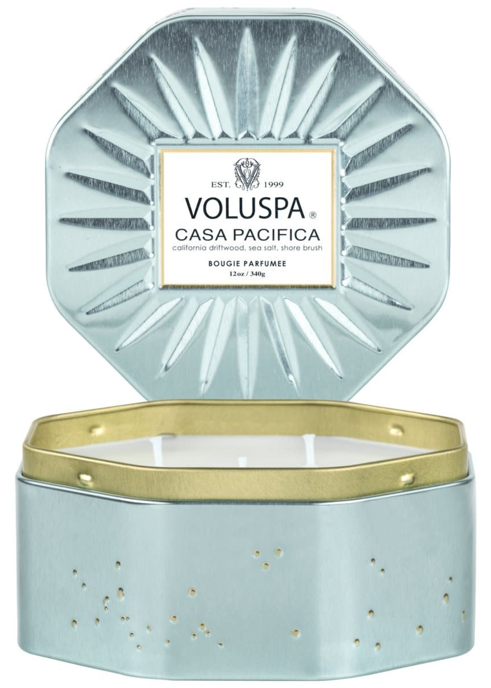 VOLUSPA VOLUSPA LARGE TIN - CASA PACIFICA