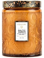 VOLUSPA VOLUSPA BALTIC AMBER LARGE GLASS JAR