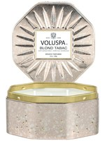 VOLUSPA VOLUSPA LARGE TIN - BLOND TABAC
