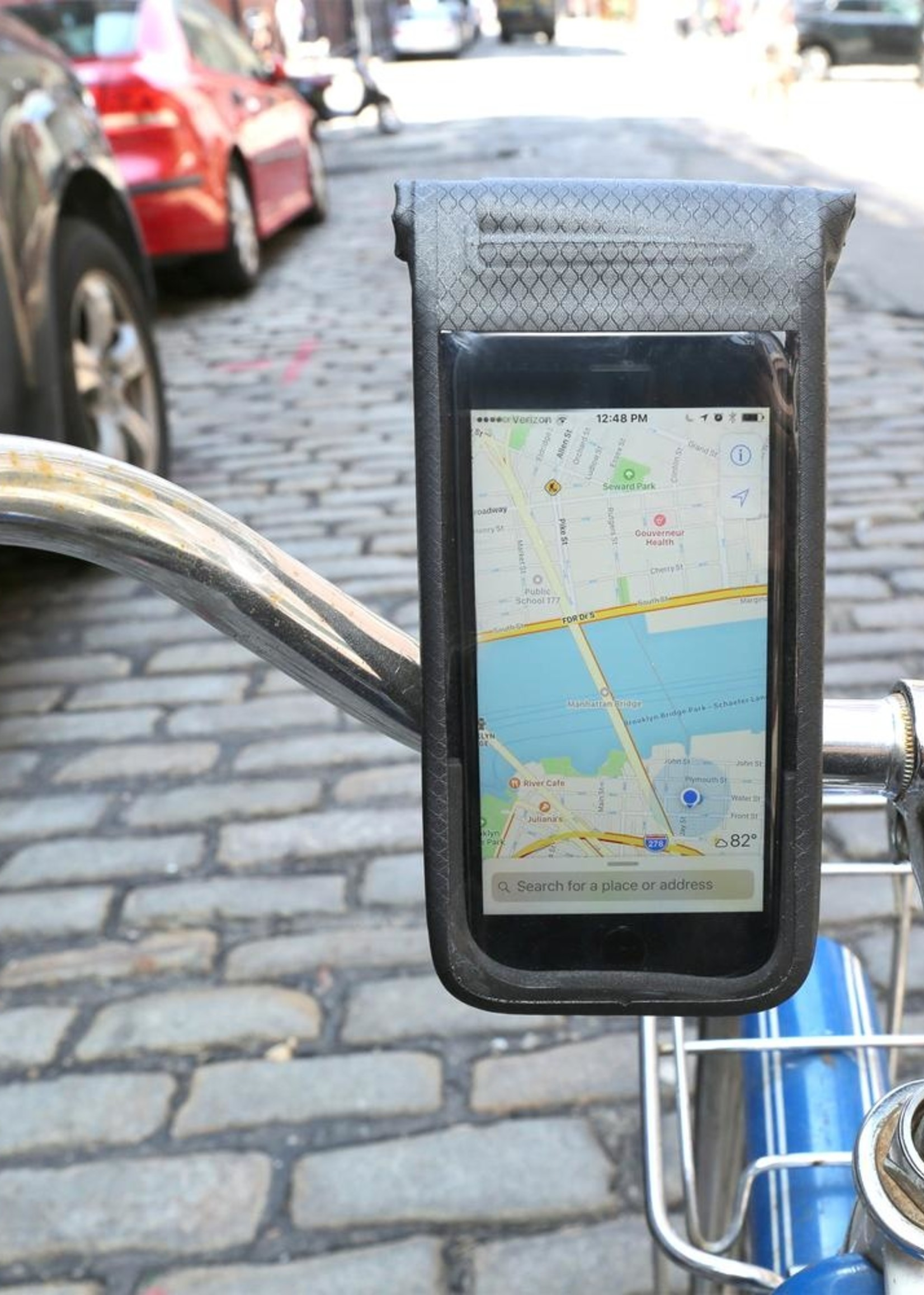 Kikkerland ALL WEATHER BIKE PHONE HOLDER