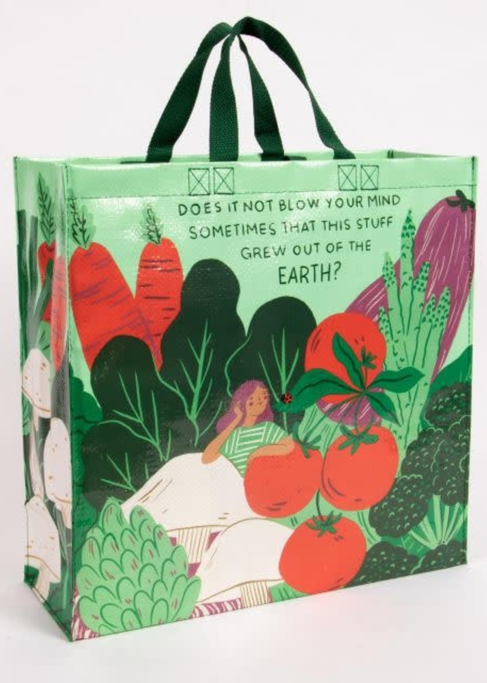 Blue Q BLUE Q SHOPPER - OUT OF THE EARTH