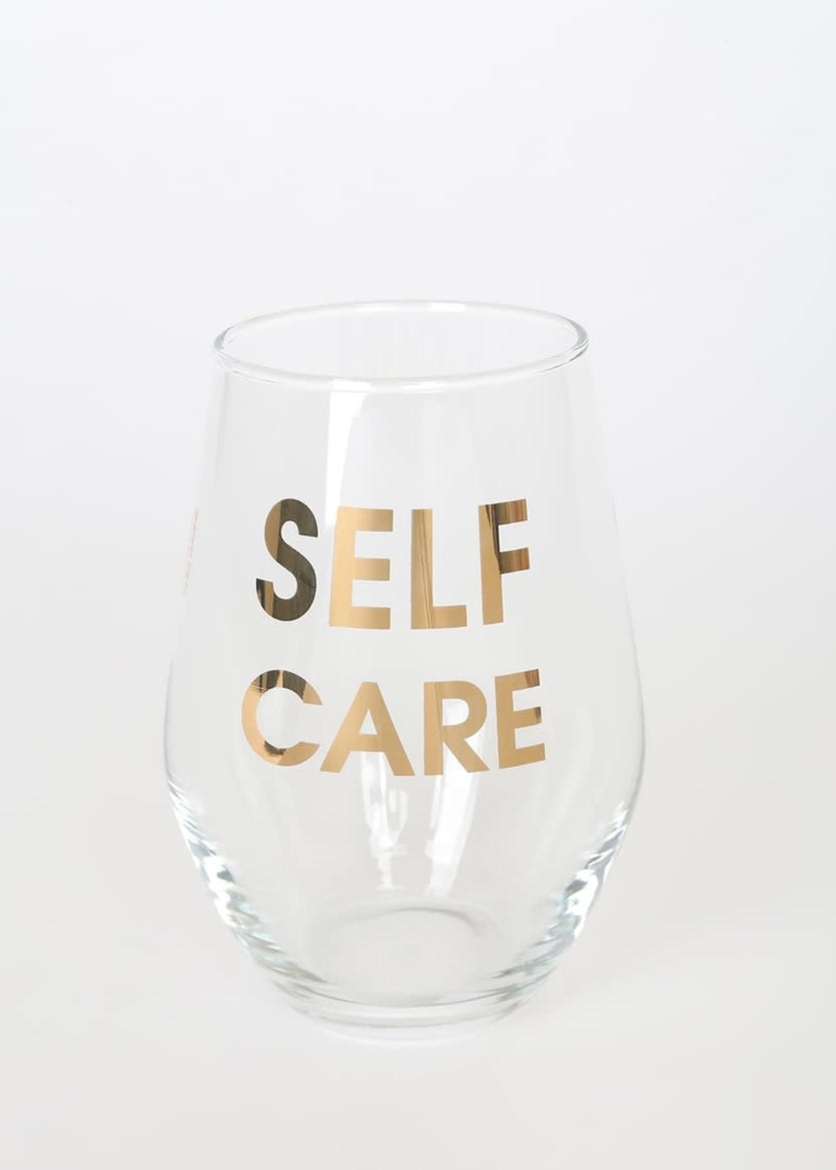 CHEZ GANGE CHEZ GAGNE WINE GLASS - SELF CARE