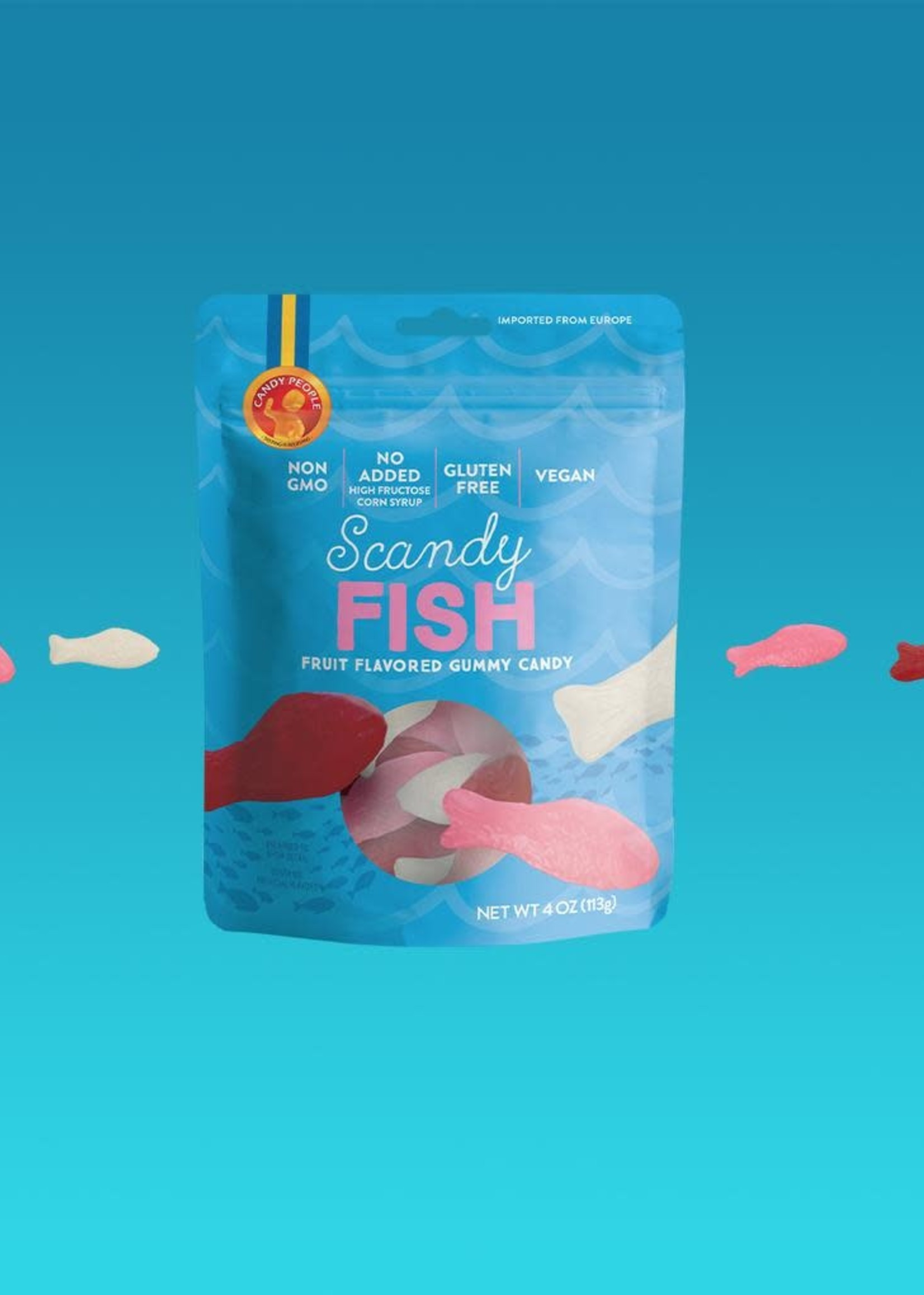 CANDY PEOPLE SWEDISH SOUR SCANDY FISH