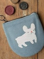 NOW DESIGNS NOW DESIGNS HALFMOON POUCH - FRENCHIE