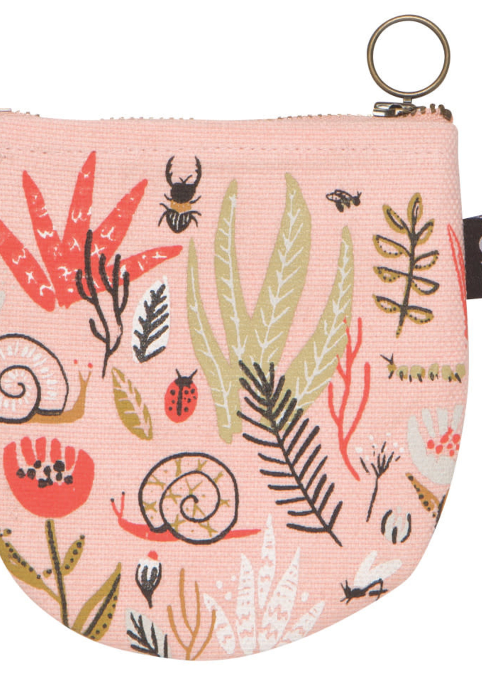 NOW DESIGNS NOW DESIGNS HALFMOON POUCH - SMALL WORLD