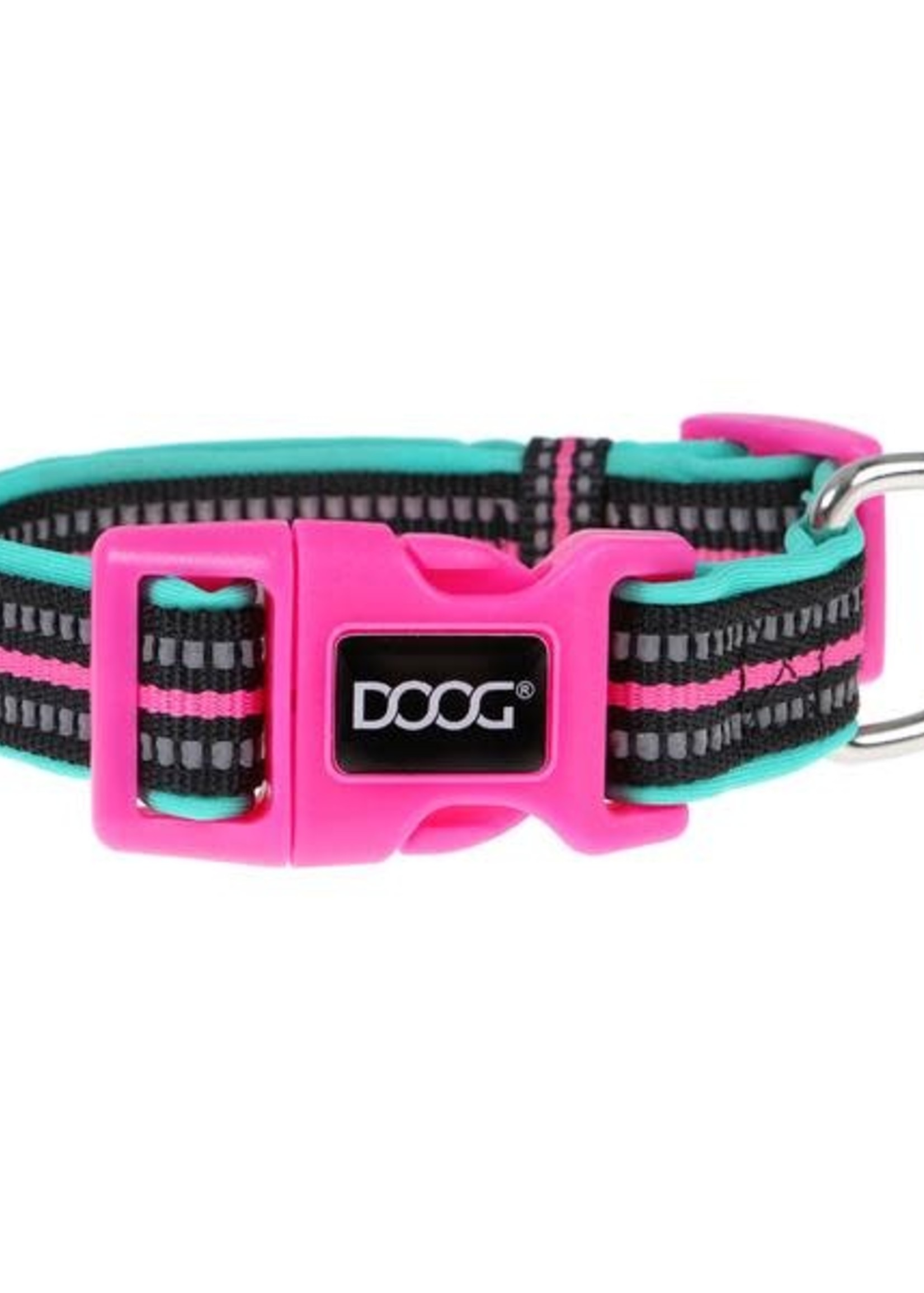 DOOG INC NEON DOG COLLAR -  RIN TIN TIN M