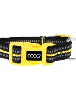DOOG INC NEON DOG COLLAR - BOLT L