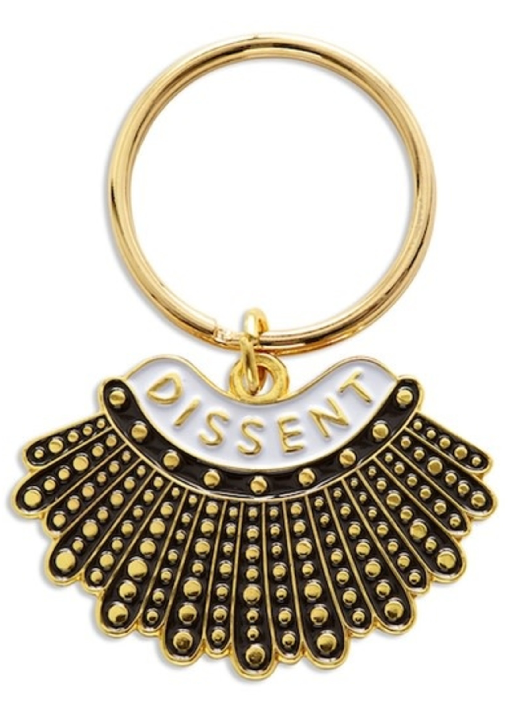 THE FOUND THE FOUND DISSENT COLLAR KEY CHAIN