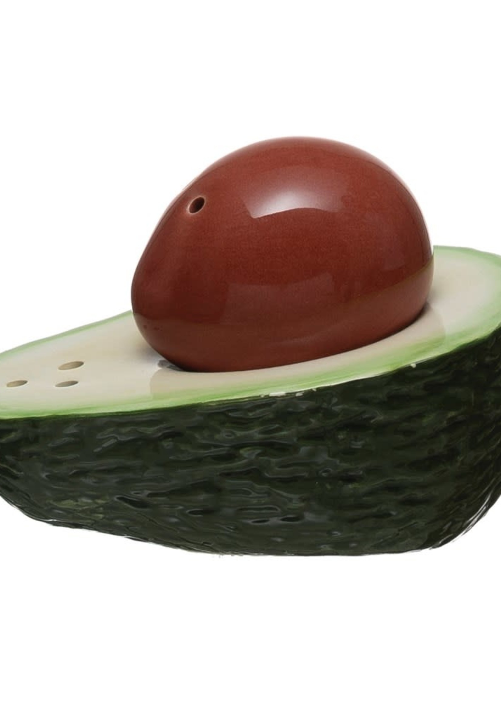 CREATIVE COOP CCOOP DOLOMITE AVOCADO SALT & PEPPER SHAKER
