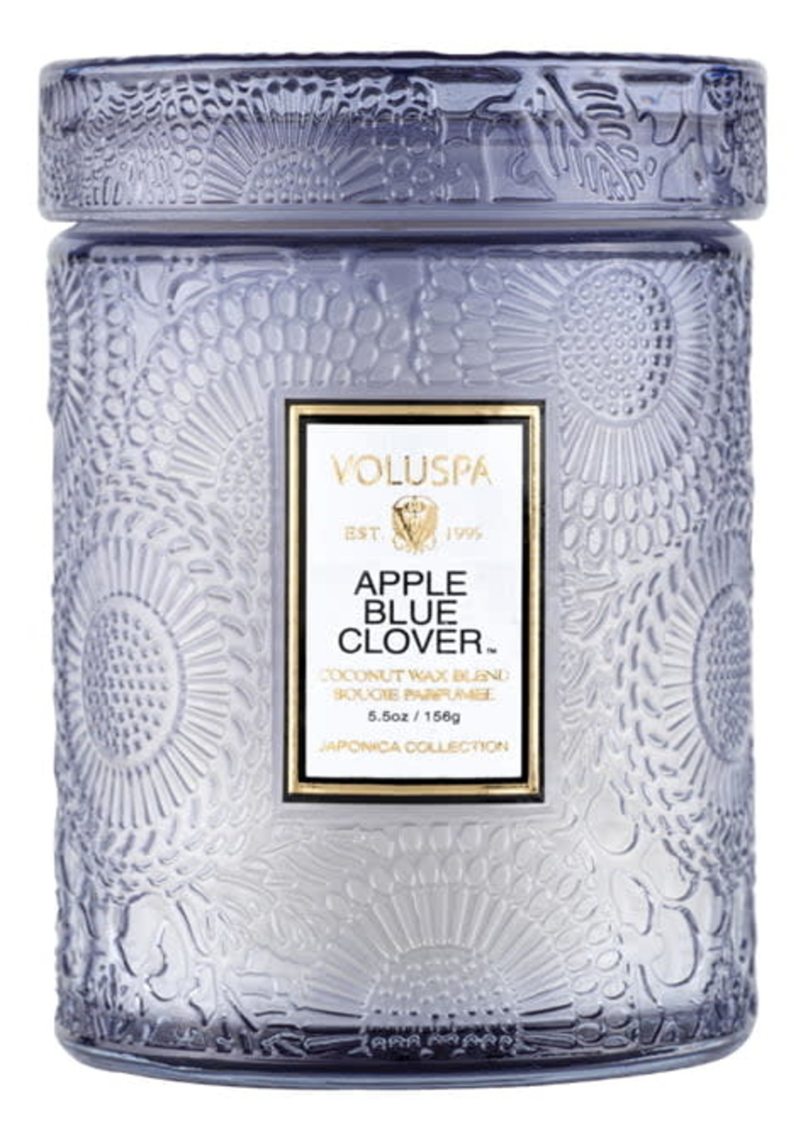 VOLUSPA VOLUSPA MIDI JAR APPLE BLUE CLOVER