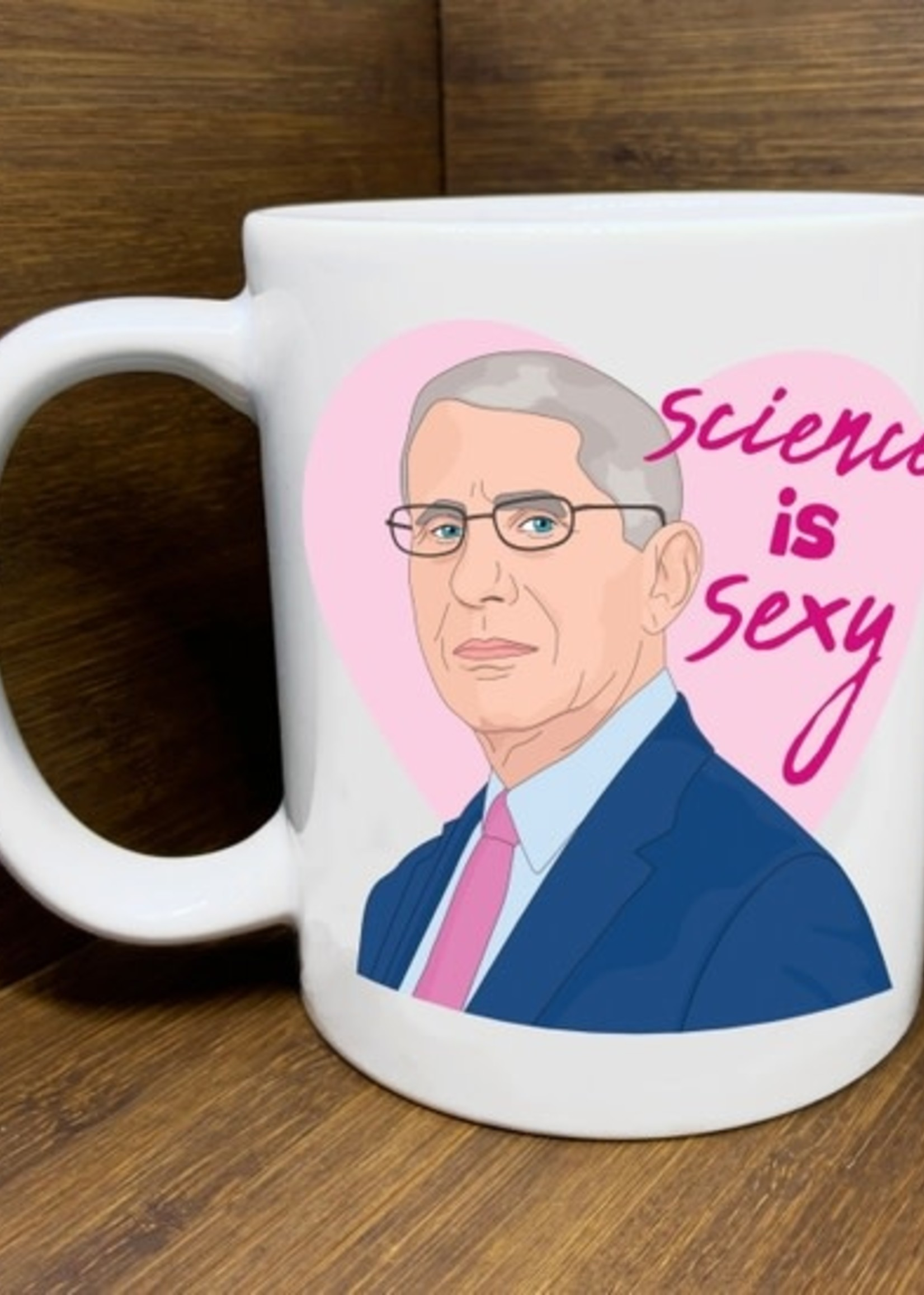 CITIZEN RUTH CITIZEN RUTH DR. FAUCI SCIENCE IS SEXY MUG