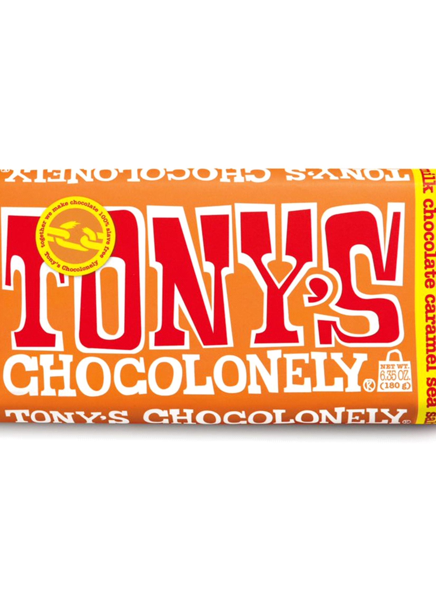 TONY'S CHOCOLONELY TONY'S CHOCOLONELY MILK CHOCOLATE SALTED CARAMEL
