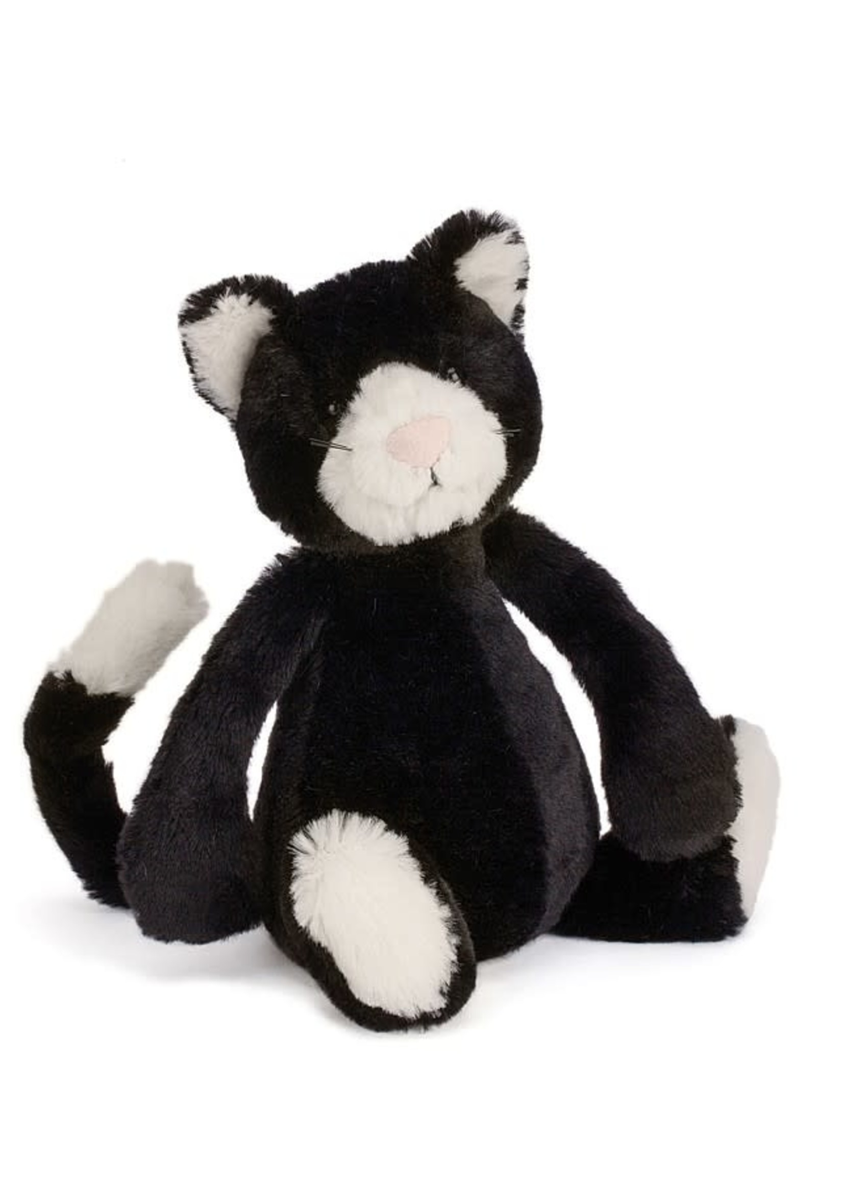JELLYCAT JELLYCAT BASHFUL BLACK & WHITE CAT