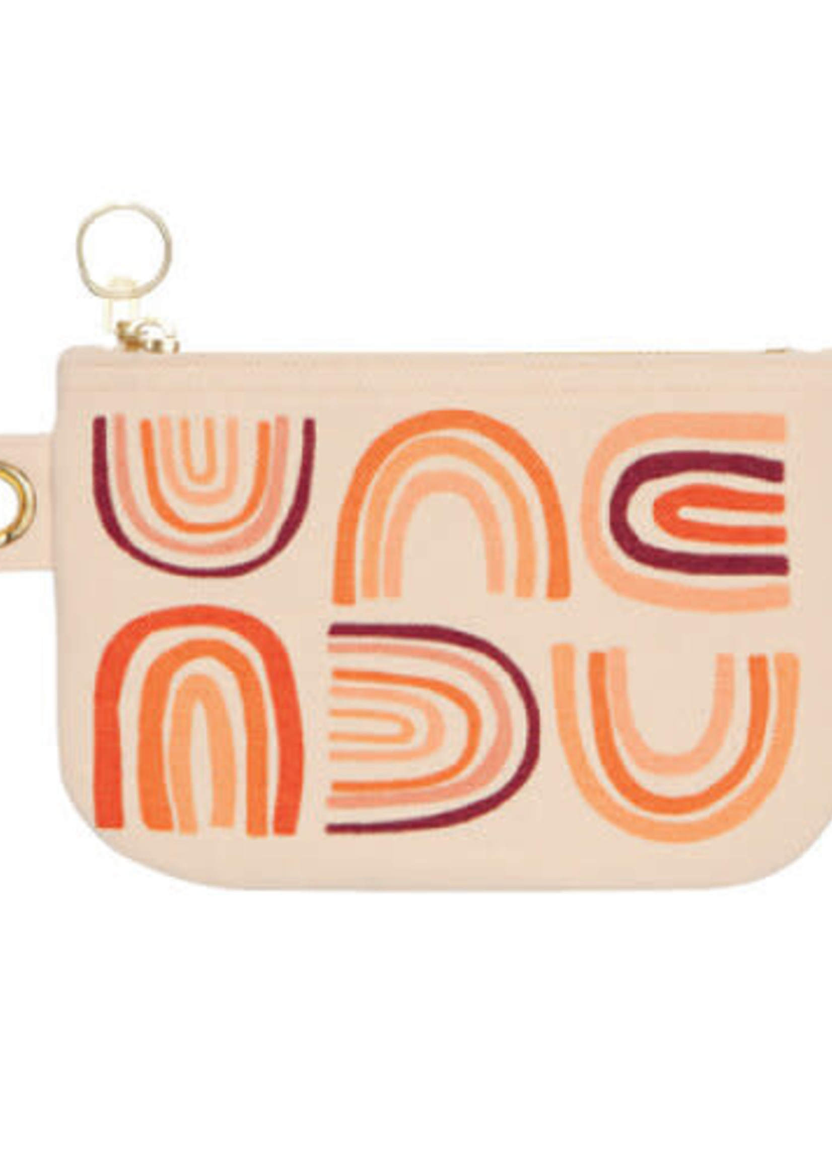 NOW DESIGNS NOW DESIGNS SMALL ZIPPER POUCH - SOLSTICE