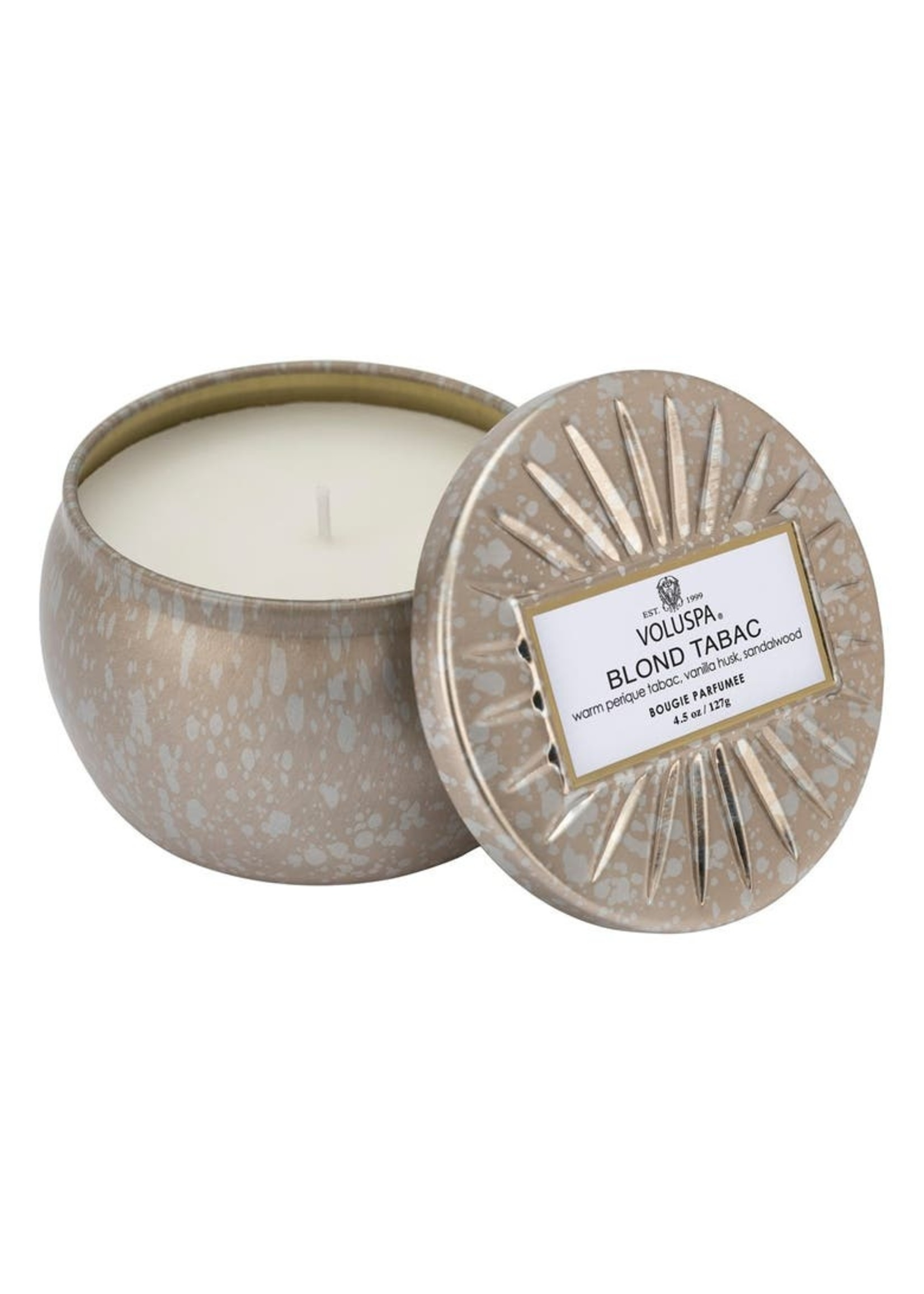 VOLUSPA VOLUSPA MINI TIN - BLOND TABAC