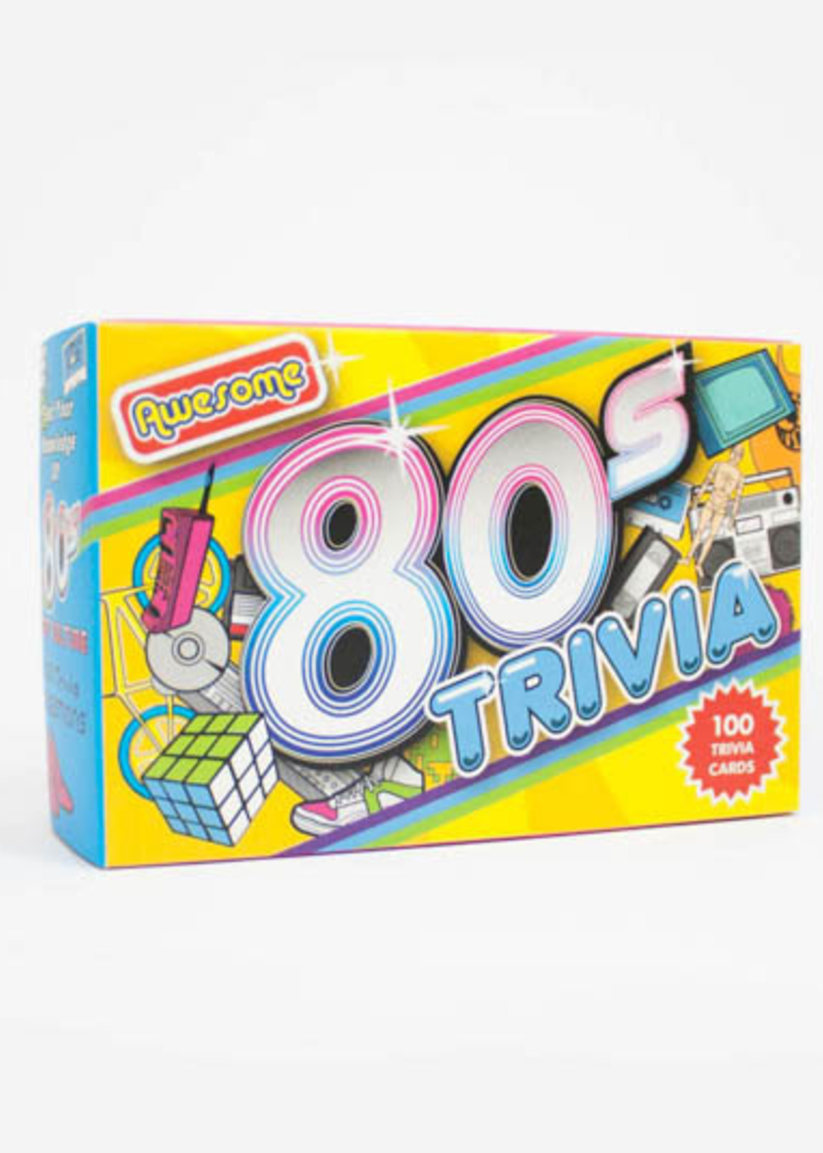 Gift Republic GIFT REPUBLIC AWESOME 80'S TRIVIA