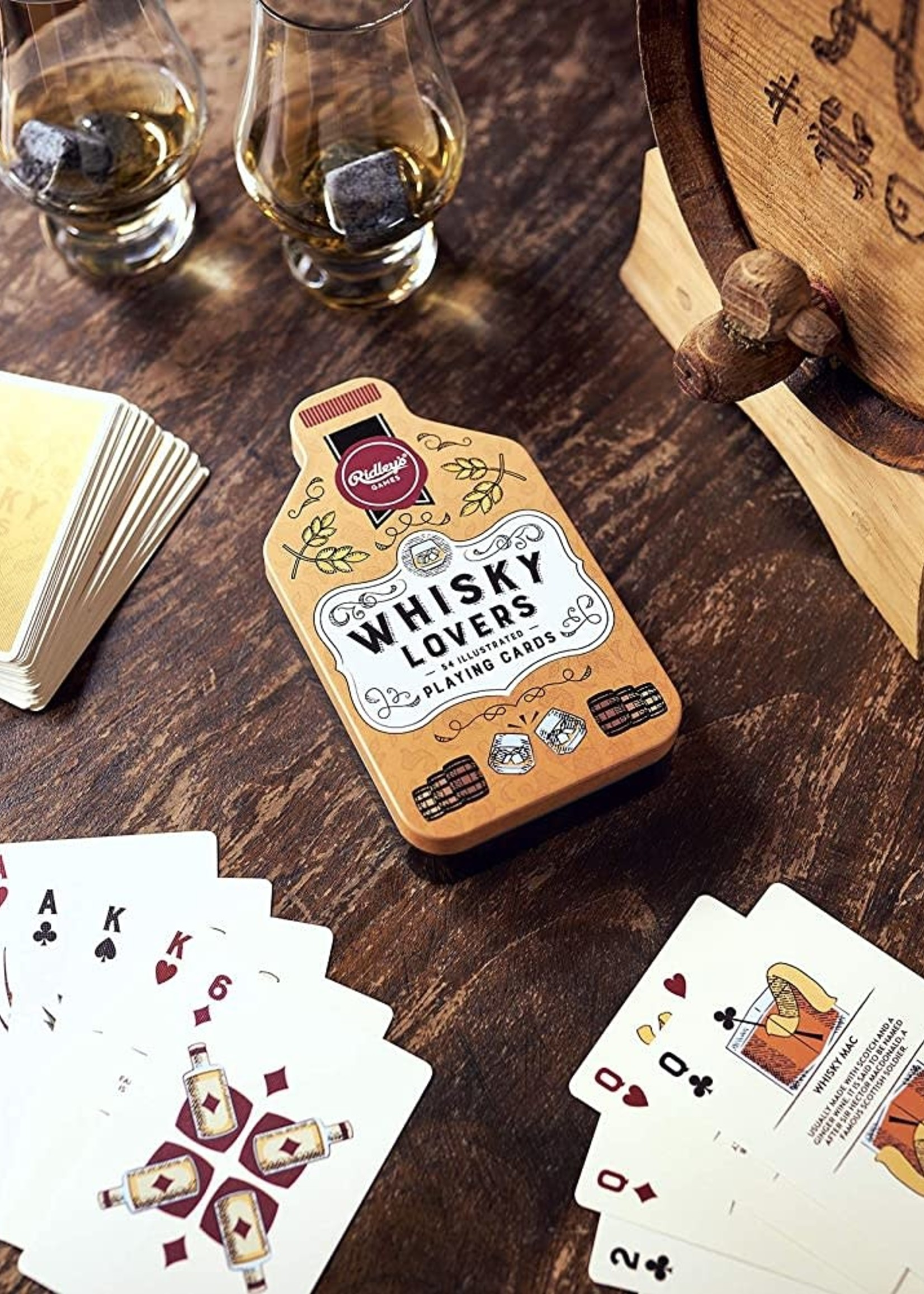 Wild & Wolf WILD AND WOLF WHISKEY LOVER'S DRINKING GAME