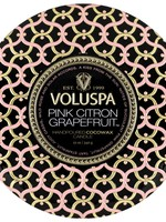 VOLUSPA VOLUSPA 3 WICK TIN-CITRON GRAPEFRUIT