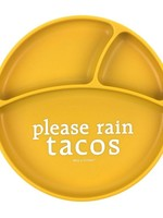 BELLA TUNNO BELLA TUNNO RAIN TACOS SUCTION PLATE