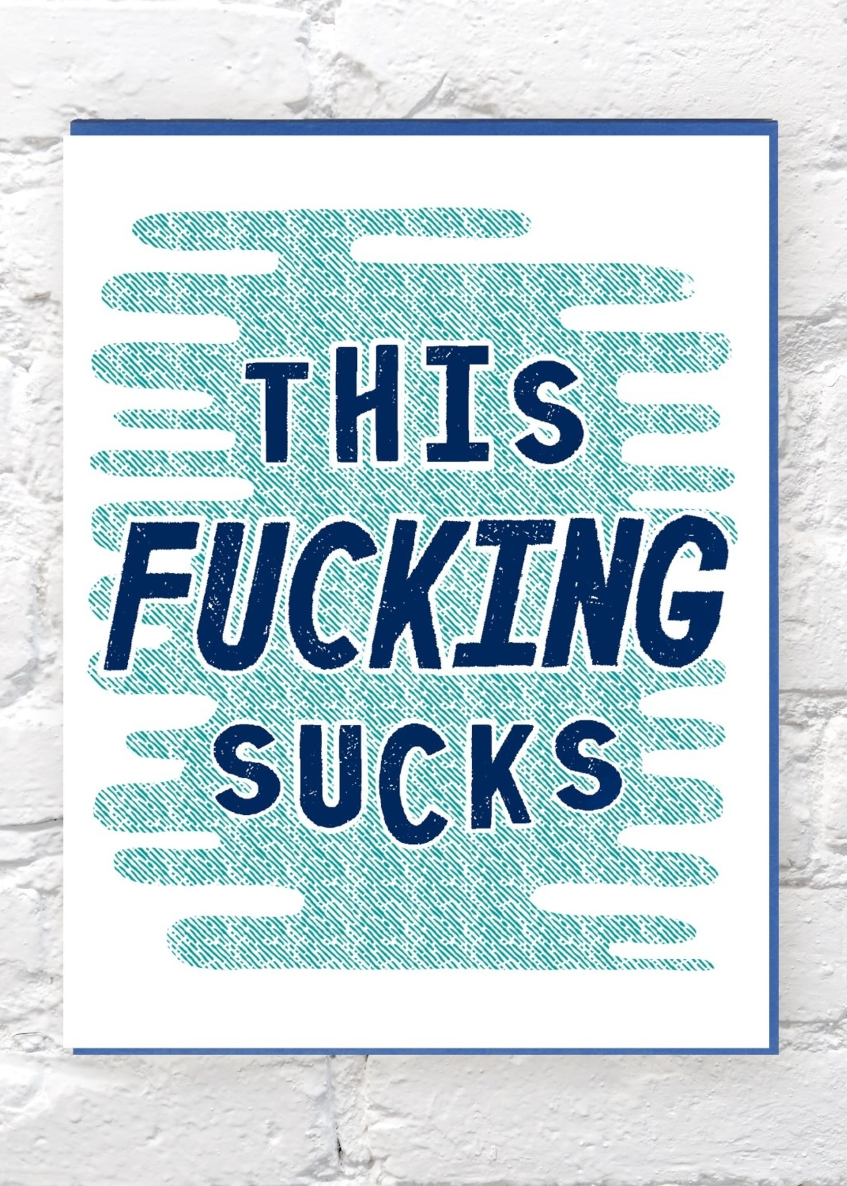 BENCH PRESSED BENCH PRESSED FUCKING SUCKS CARD
