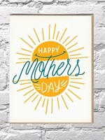 BENCH PRESSED BENCH PRESSED MOTHER'S DAY SUN CARD