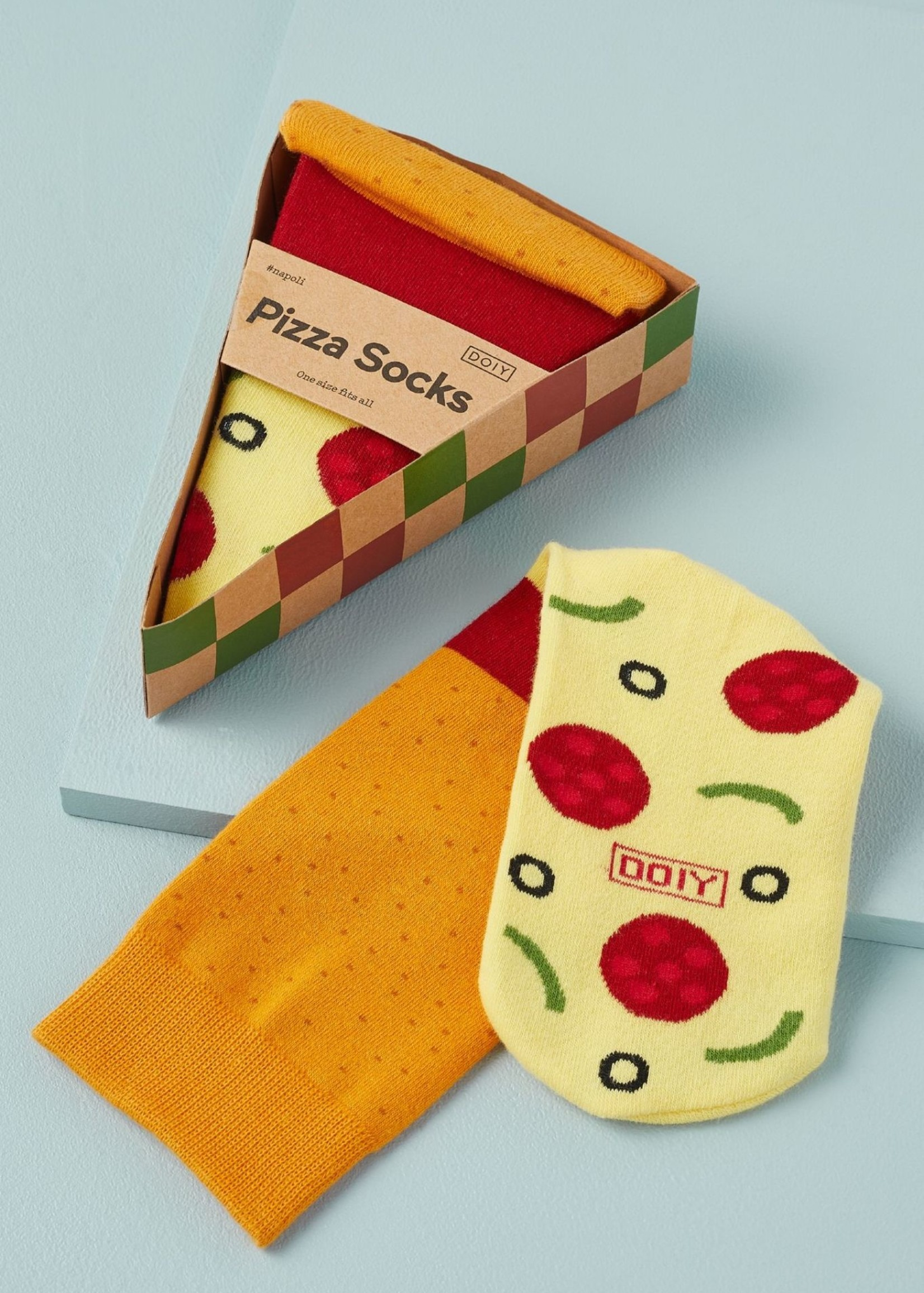 DOIY DOIY PIZZA SOCKS
