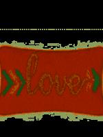 PEKING PILLOWS PEKING LOVE ARROW PILLOW