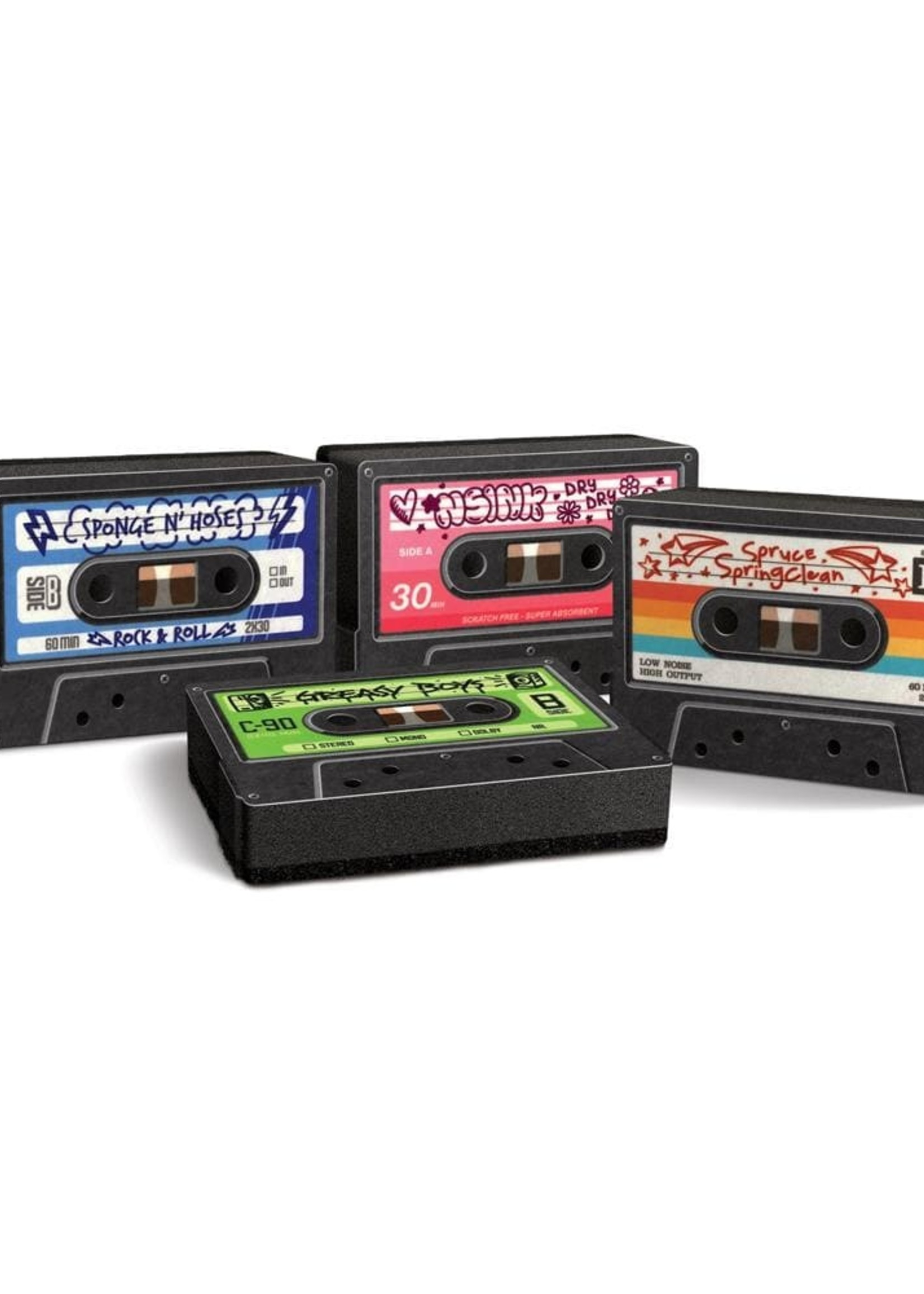 Fred & Friends FRED & FREINDS CASSETTE MIX TAPES SPONGES