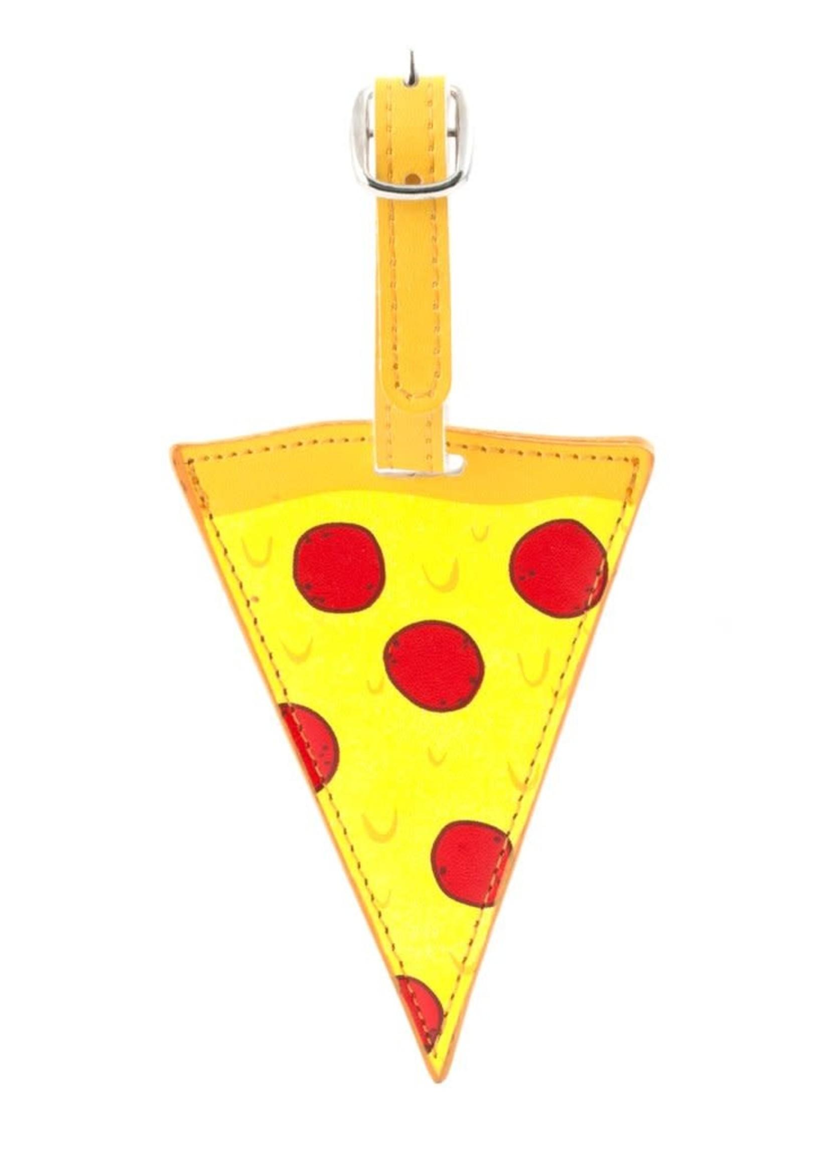 Kikkerland KIKKERLAND LUGGAGE TAG PIZZA