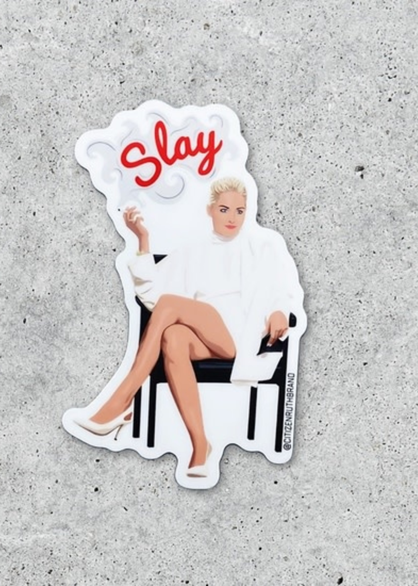 CITIZEN RUTH CITIZEN RUTH BASIC INSTINCT SLAY STICKER