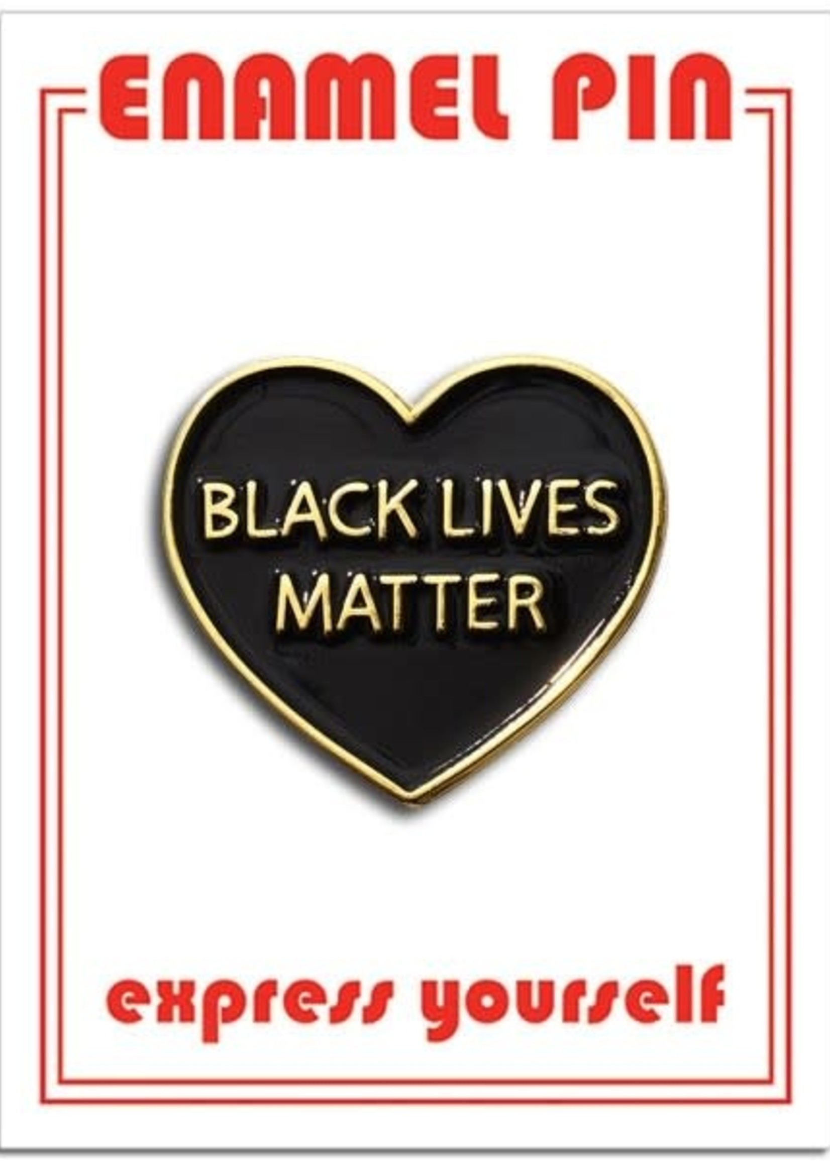 THE FOUND THE FOUND BLM ENAMEL PIN