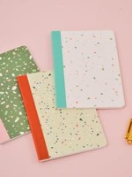 TALKING OUT OF TURN TALKING OUT OF TURN MINI NOTEBOOK-TINY TERRAZZO