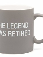 ABOUT FACE ABOUT FACE LEGEND RETIRED MUG