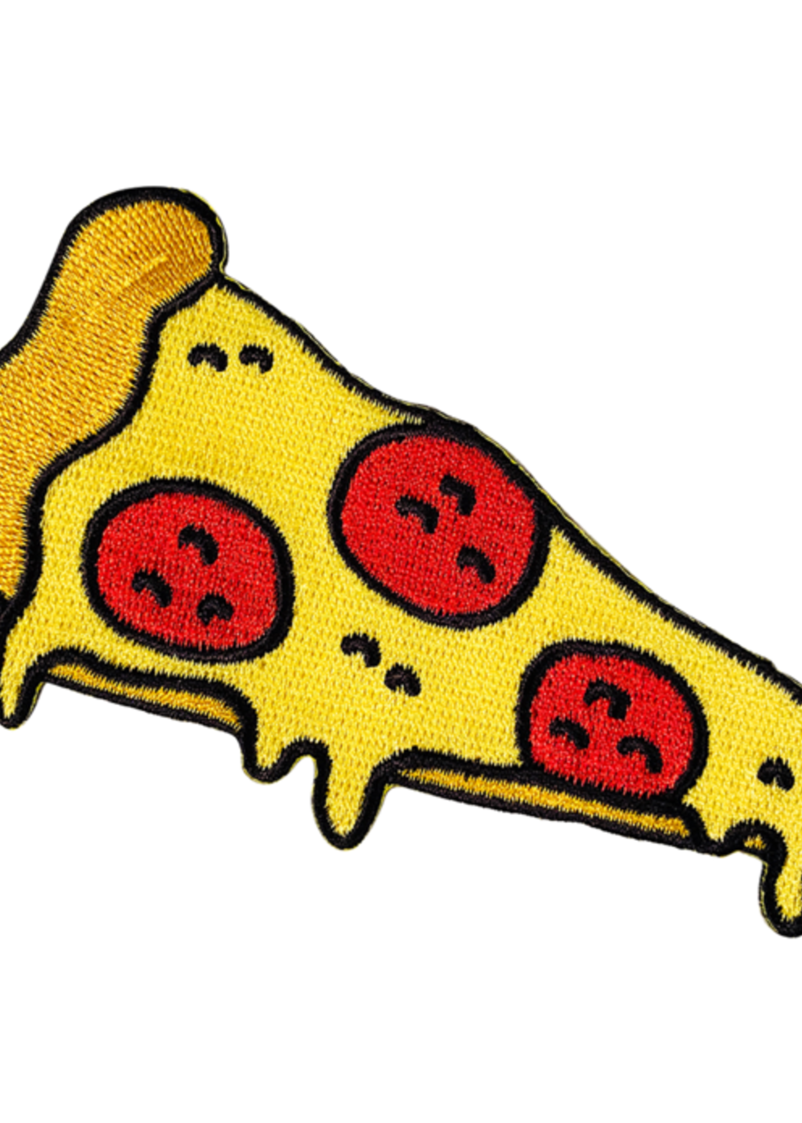 PATCHES AND PINS PATCHES AND PINS PIZZA IRON-ON PATCH