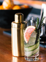 BE HOME BE HOME MATTE GOLD COCKTAIL SHAKER