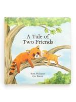 JELLYCAT JELLYCAT THE TALE OF TWO FRIENDS BOOK