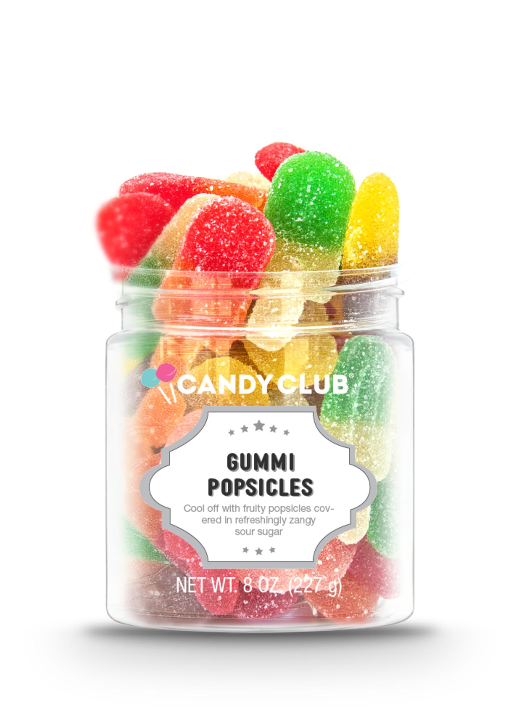 CANDY CLUB CANDY CLUB GUMMI POPSICLES SMALL