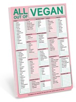 KNOCK KNOCK KNOCK KNOCK ALL OUT OF VEGAN