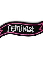 BADGE BOMB FEMINIST  BANNER PATCH